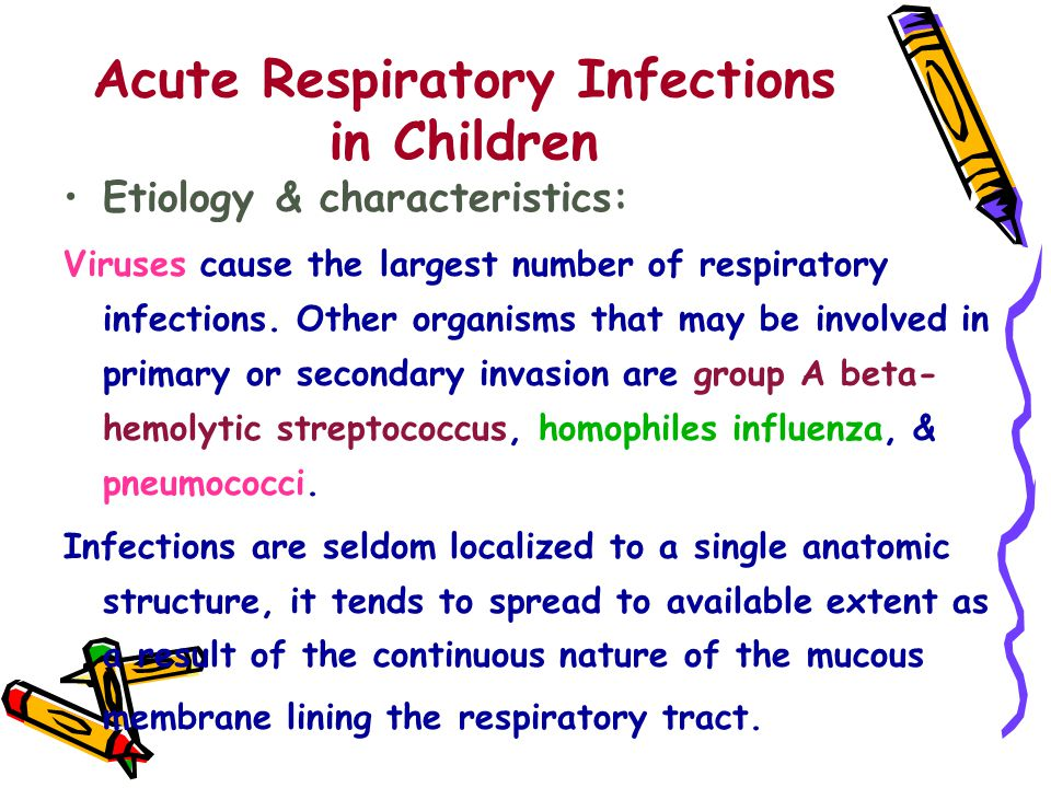 Acute Respiratory Infections in Children
