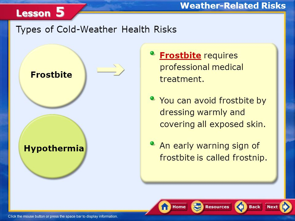 Weather-Related Risks