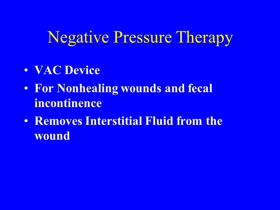 Negative Pressure Therapy
