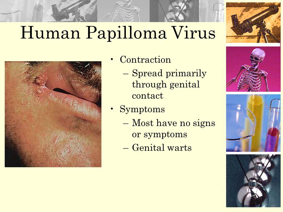Human Papilloma Virus Contraction