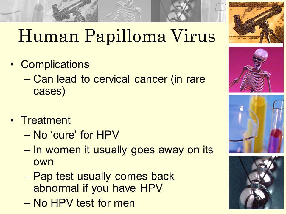 Human Papilloma Virus Complications