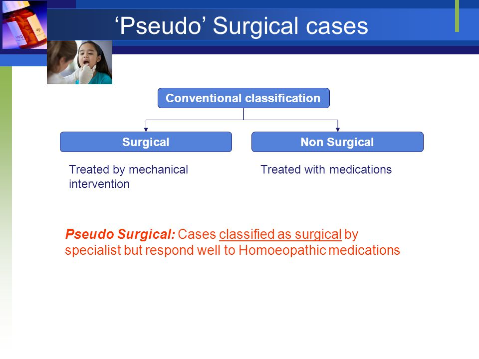 'Pseudo' Surgical cases