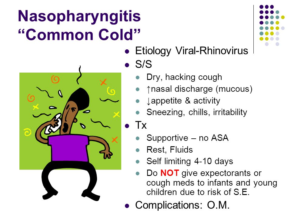 Nasopharyngitis Common Cold
