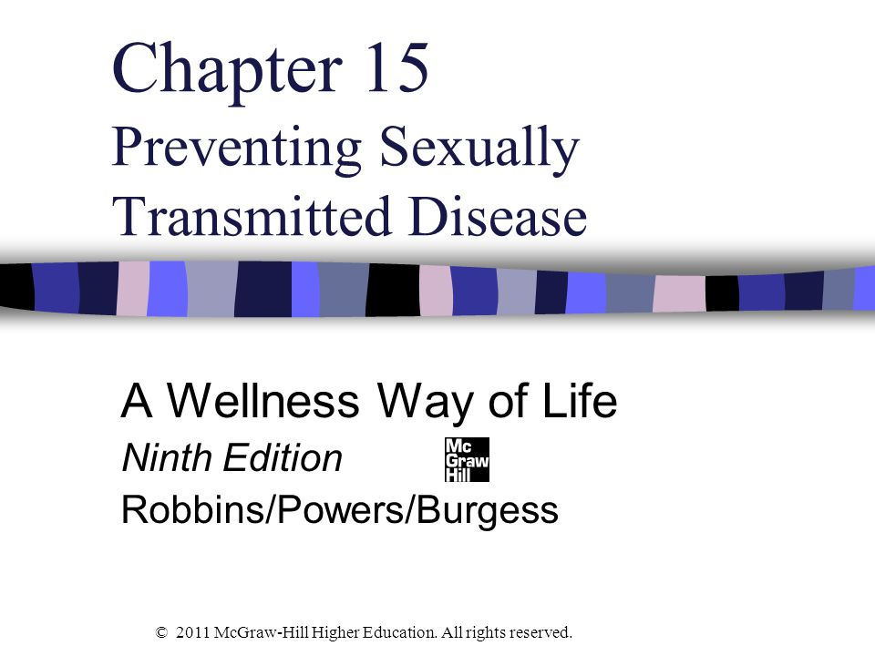 Chapter 15 Preventing Sexually Transmitted Disease