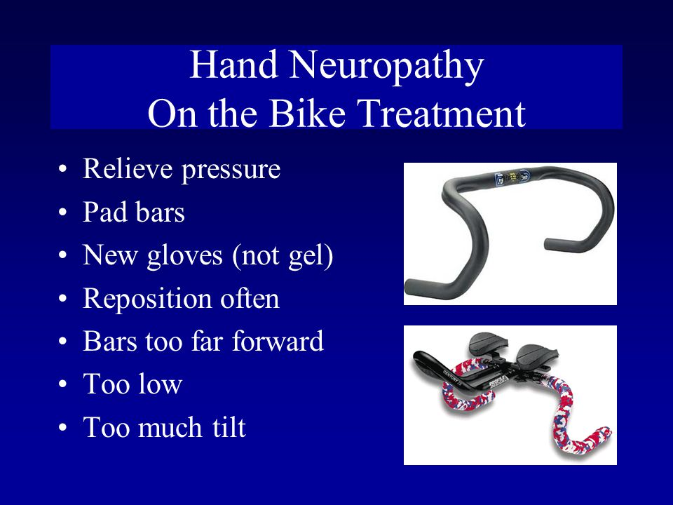 Hand Neuropathy On the Bike Treatment