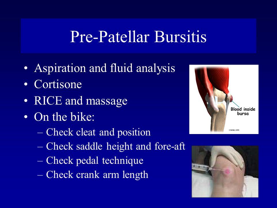 Pre-Patellar Bursitis