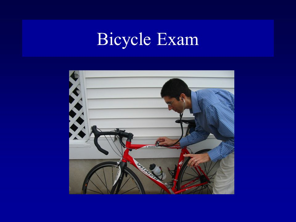 Bicycle Exam
