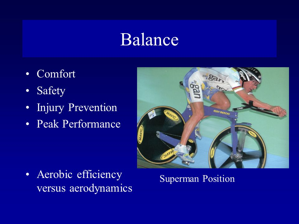 Balance Comfort Safety Injury Prevention Peak Performance