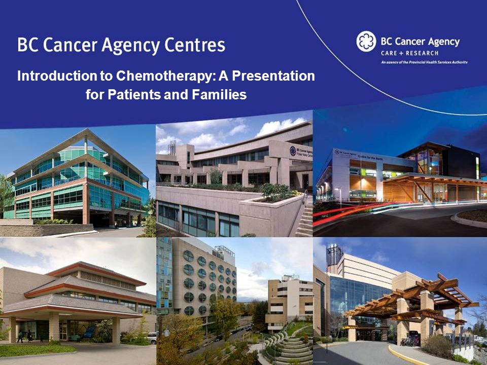 Introduction to Chemotherapy: A Presentation for Patients and Families