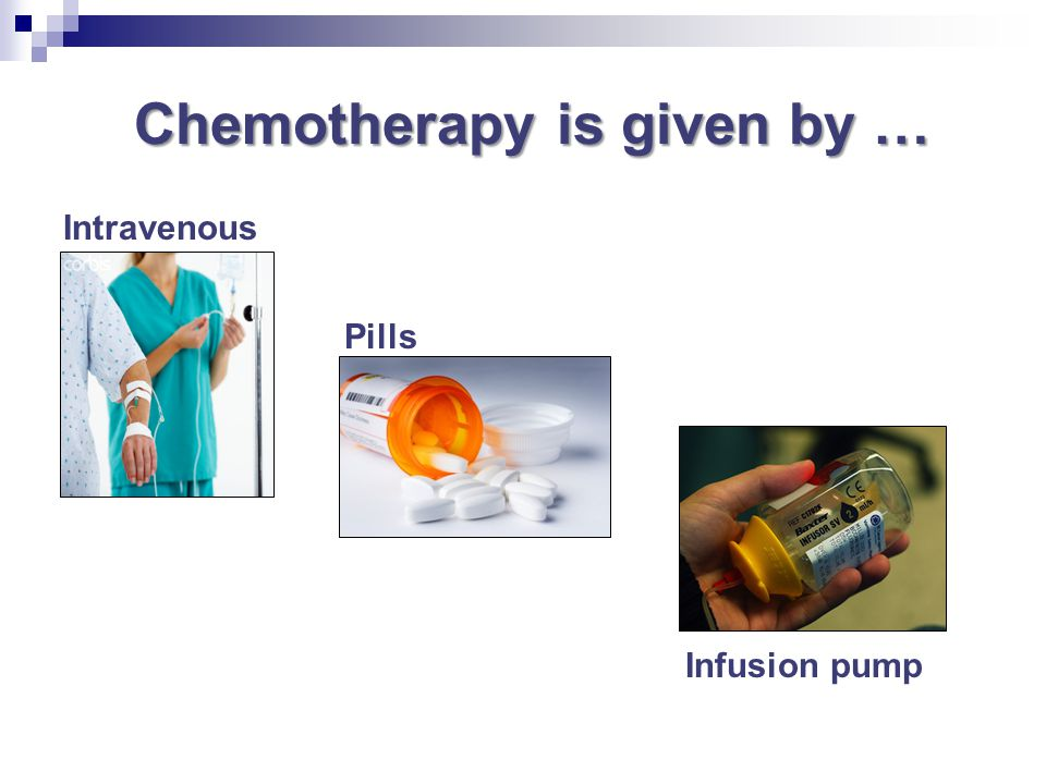 Chemotherapy is given by …