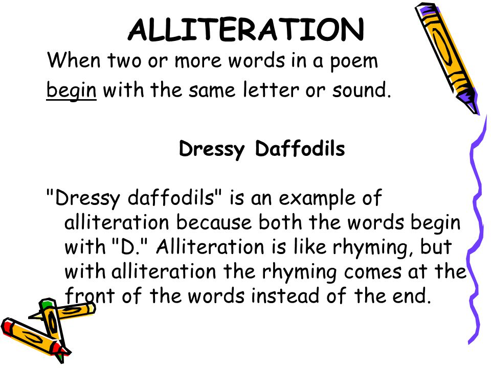 Poetry ppt download for Alliteration poem template