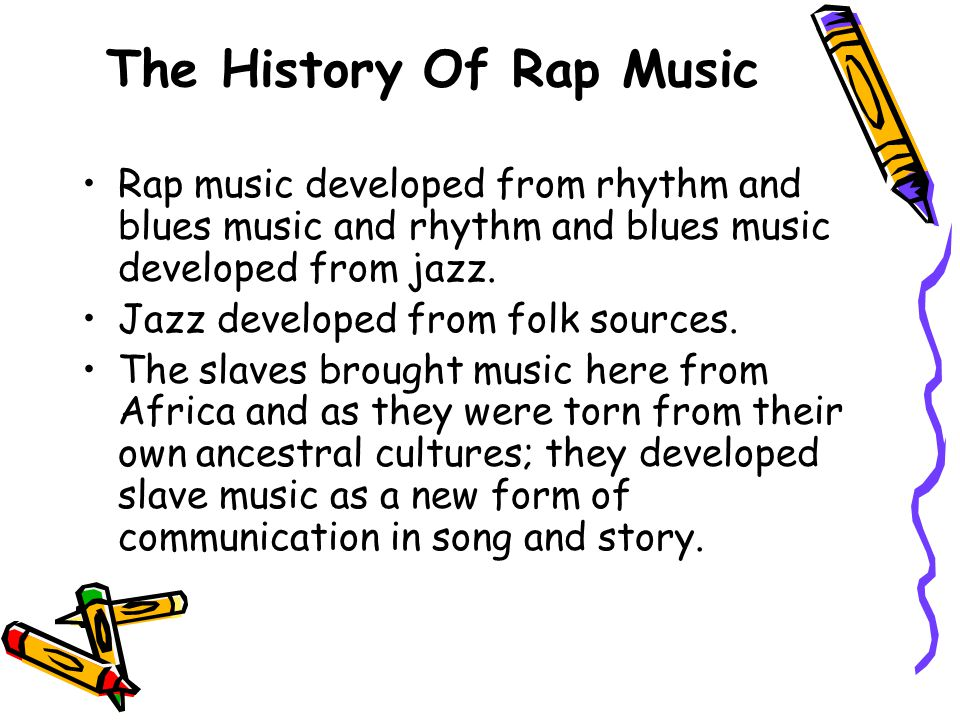 The History Of Rap Music
