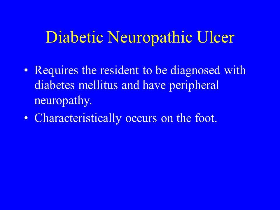 Diabetic Neuropathic Ulcer
