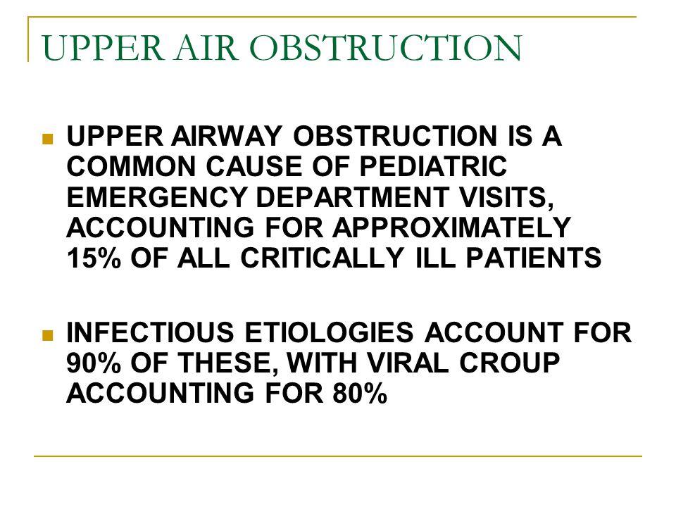 UPPER AIR OBSTRUCTION