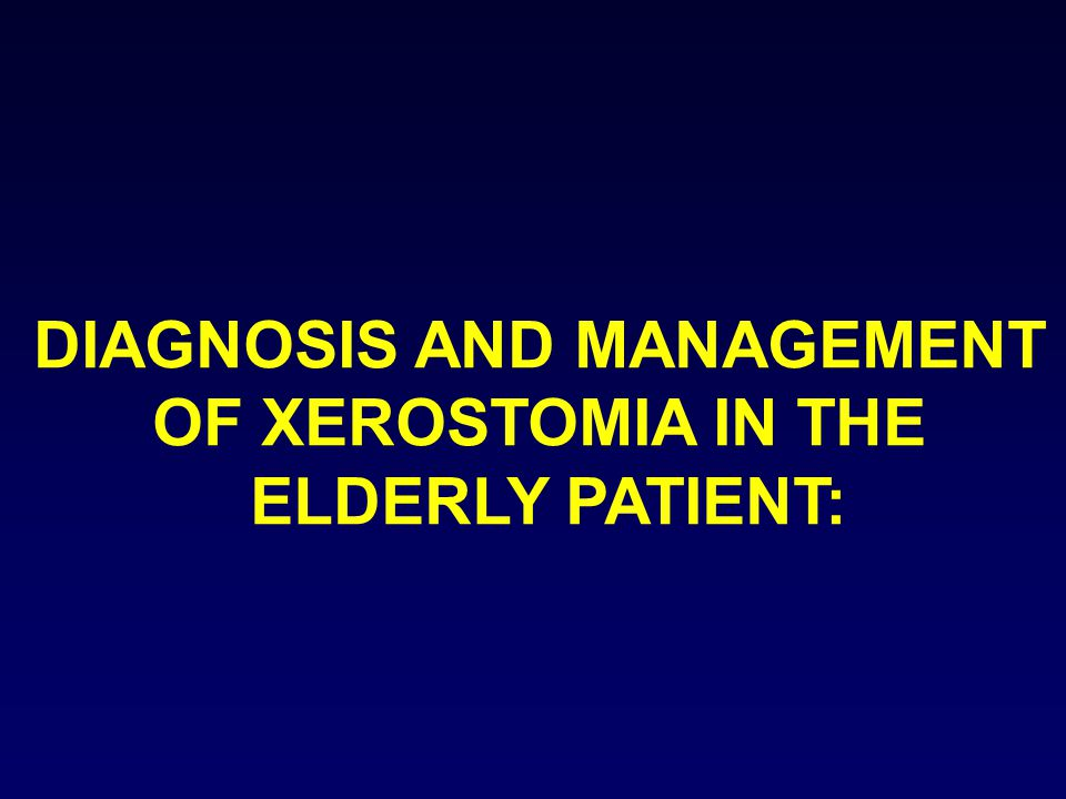 DIAGNOSIS AND MANAGEMENT