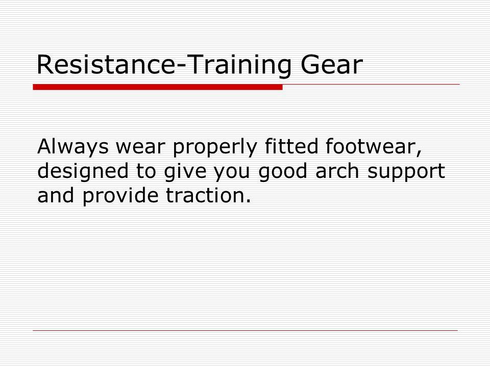 Resistance-Training Gear