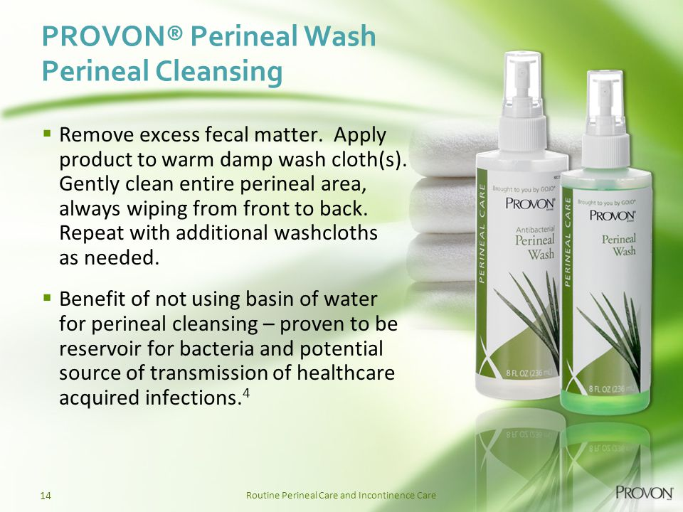 PROVON® Perineal Wash Perineal Cleansing