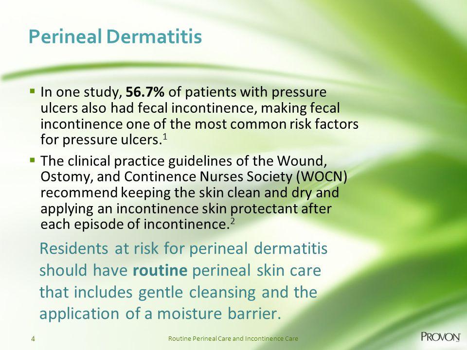 Perineal Dermatitis