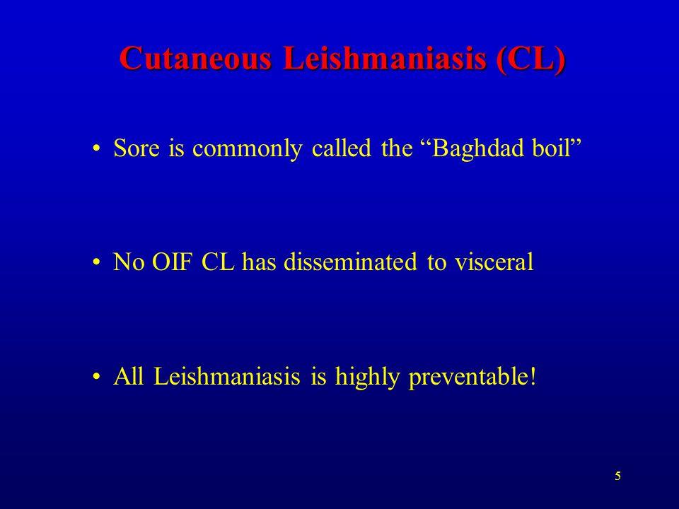 Cutaneous Leishmaniasis (CL)