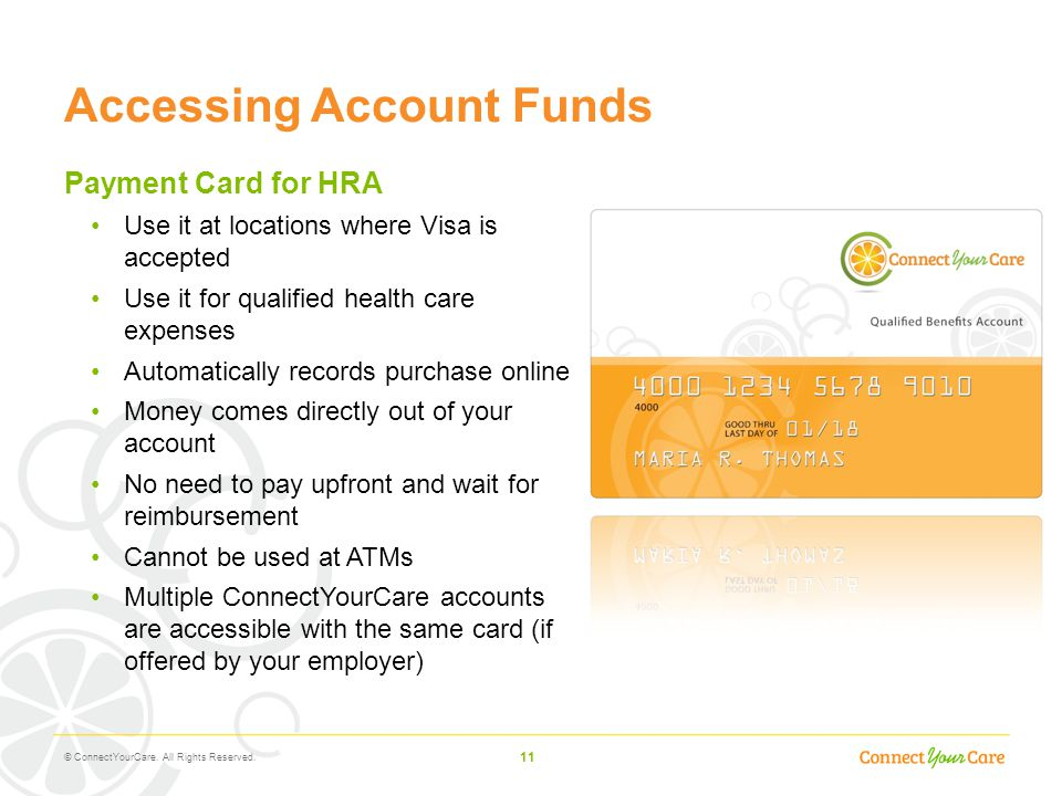 Accessing Account Funds