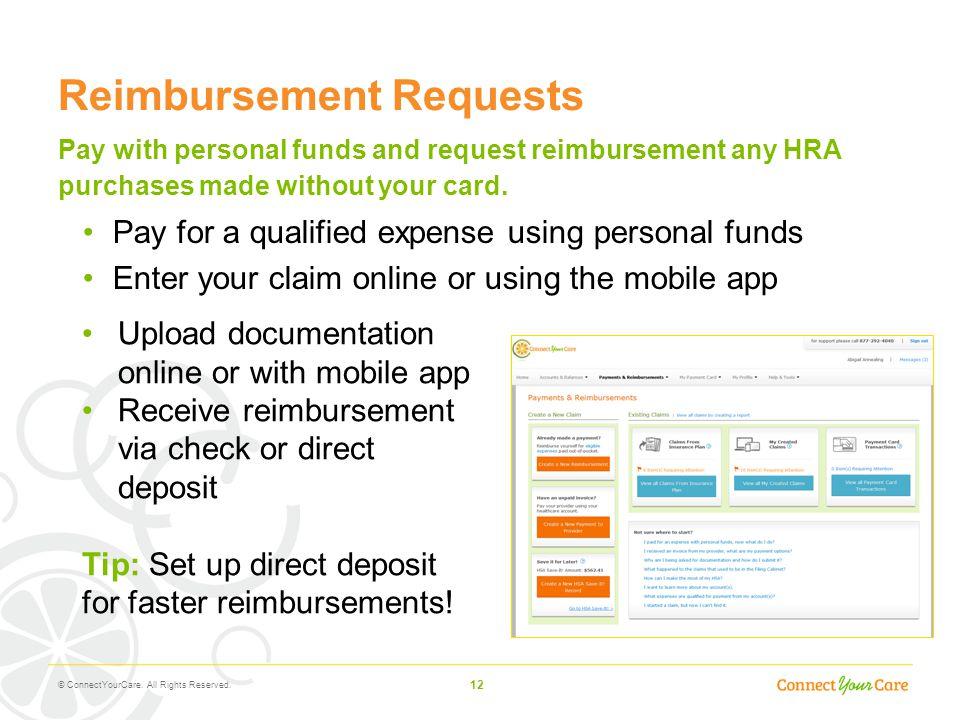 Reimbursement Requests