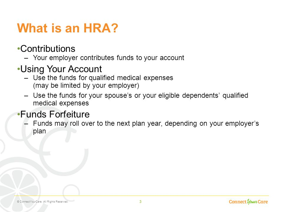 What is an HRA Contributions Using Your Account Funds Forfeiture