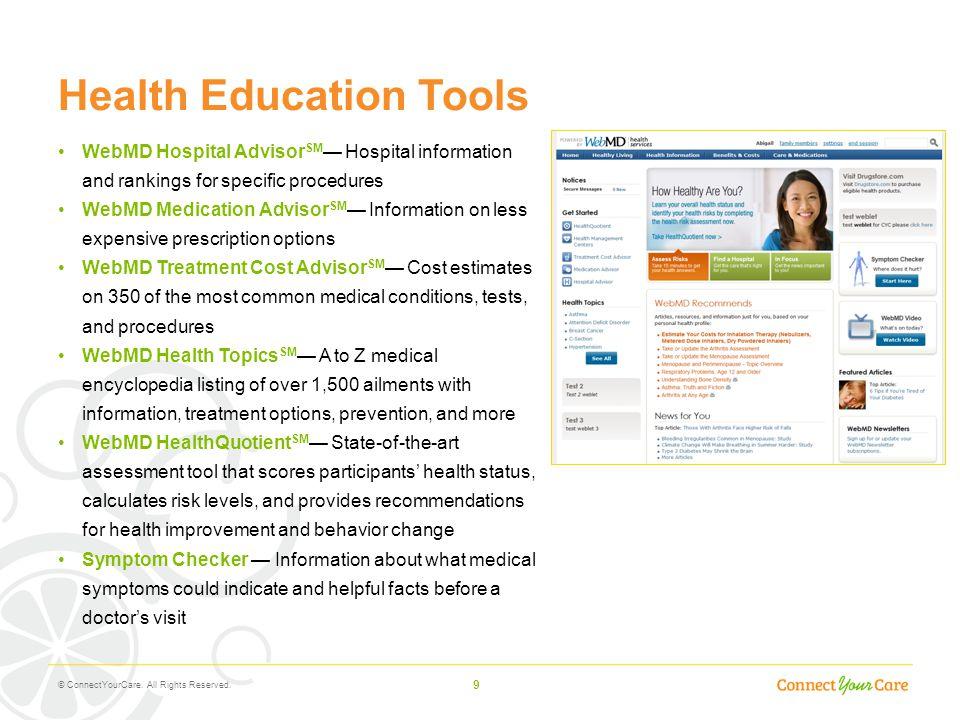 Health Education Tools
