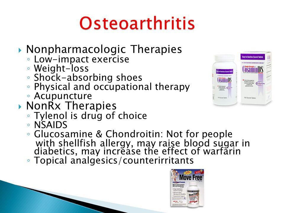 Osteoarthritis Nonpharmacologic Therapies NonRx Therapies
