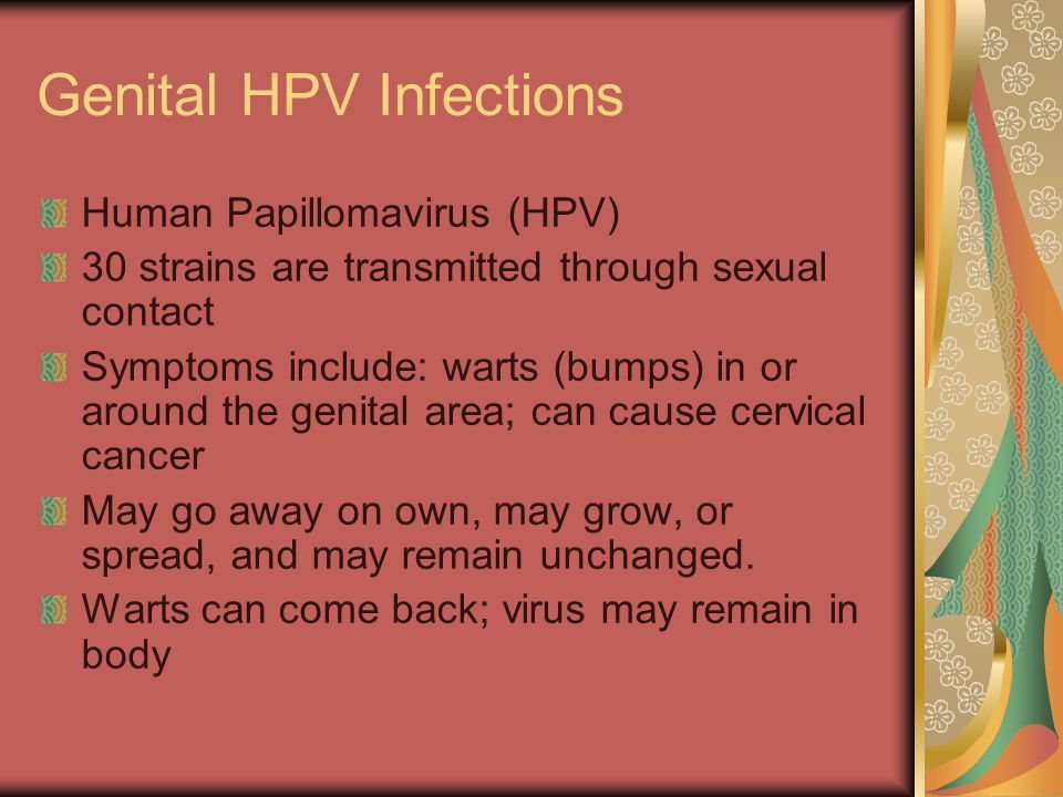 Genital HPV Infections