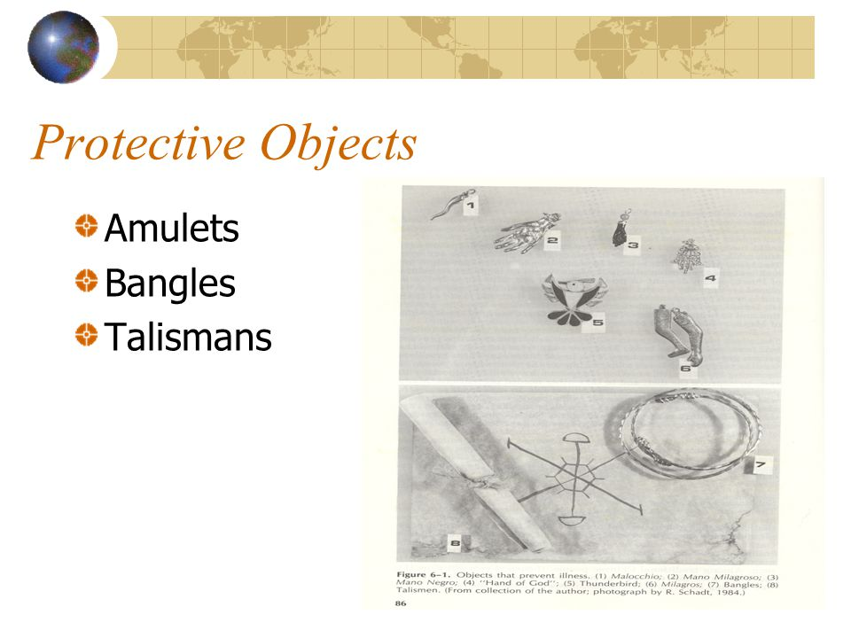 Protective Objects Amulets Bangles Talismans