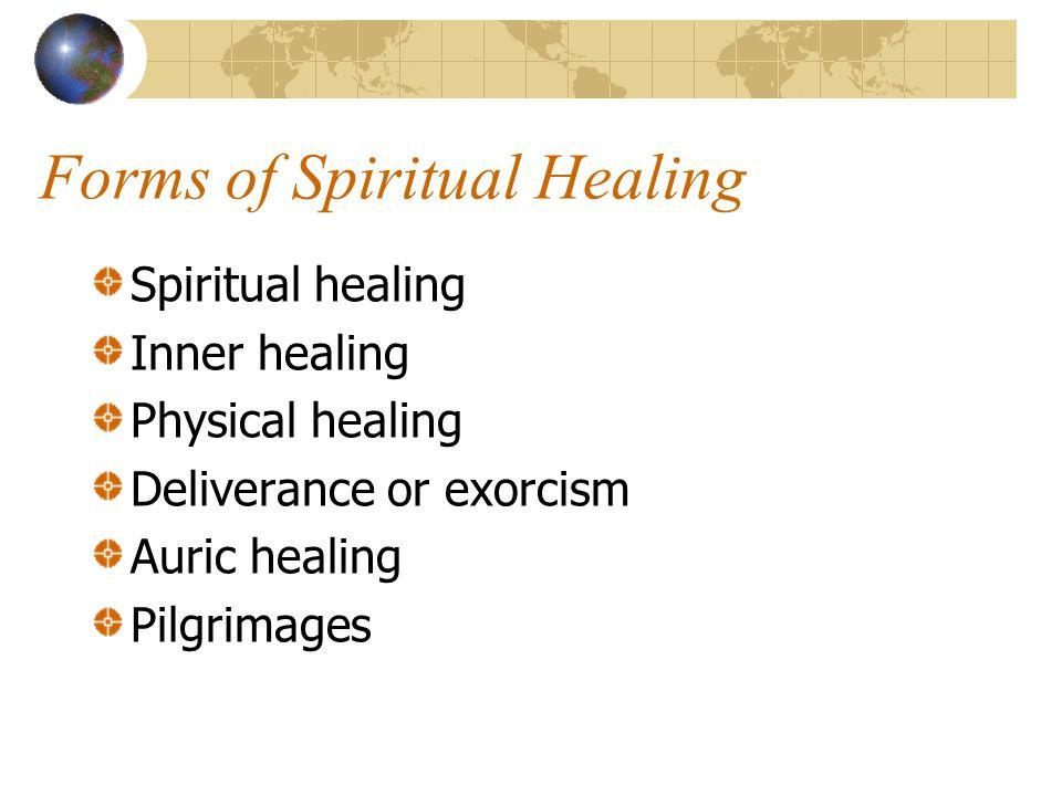Forms of Spiritual Healing