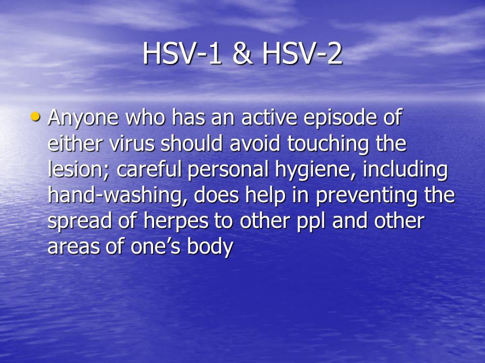 HSV-1 & HSV-2