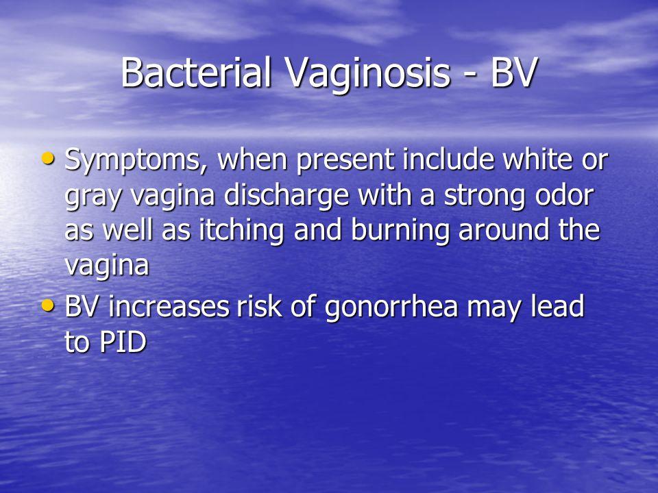 Bacterial Vaginosis - BV