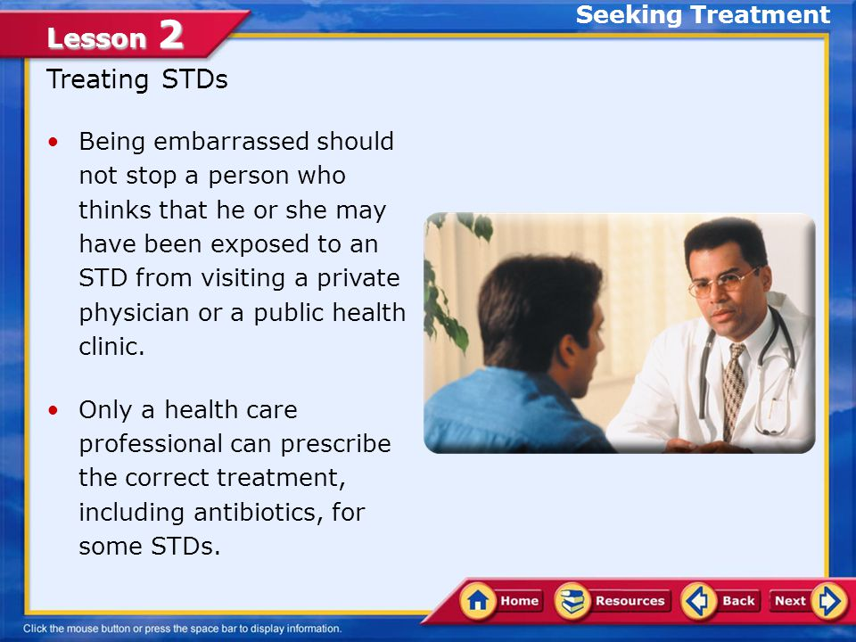 Treating STDs Seeking Treatment