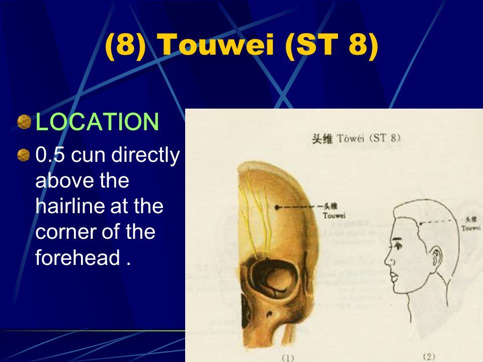(8) Touwei (ST 8) LOCATION
