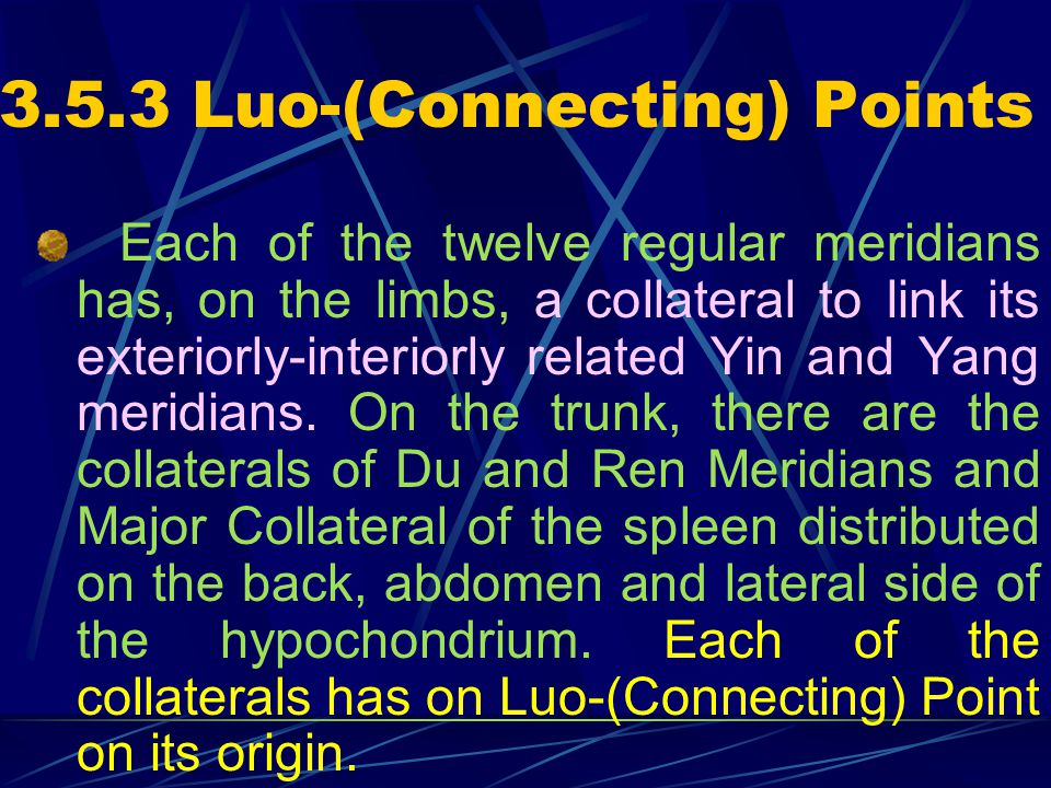3.5.3 Luo-(Connecting) Points