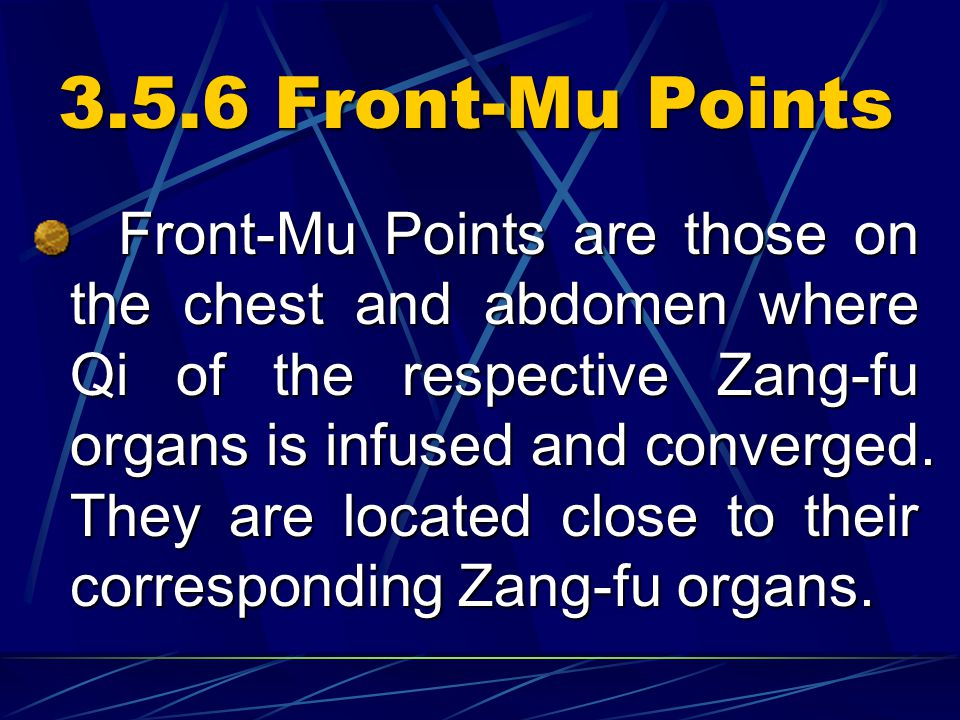 3.5.6 Front-Mu Points