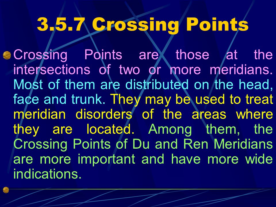 3.5.7 Crossing Points