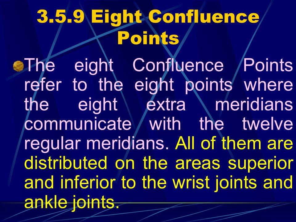 3.5.9 Eight Confluence Points