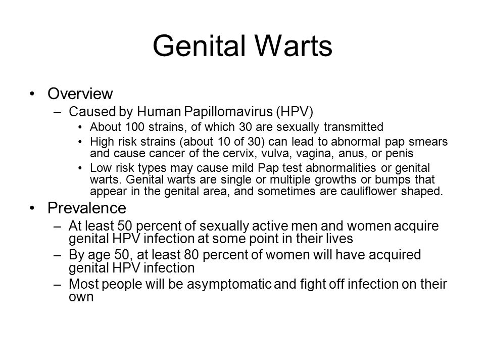 genital warts research paper Genital warts affect 1% of the sexually active us population and are commonly seen in primary care human papillomavirus types 6 and 11 are responsible for most genital warts.