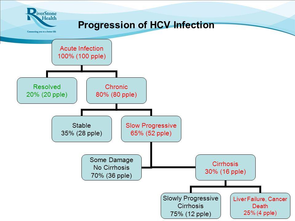 Progression of HCV Infection