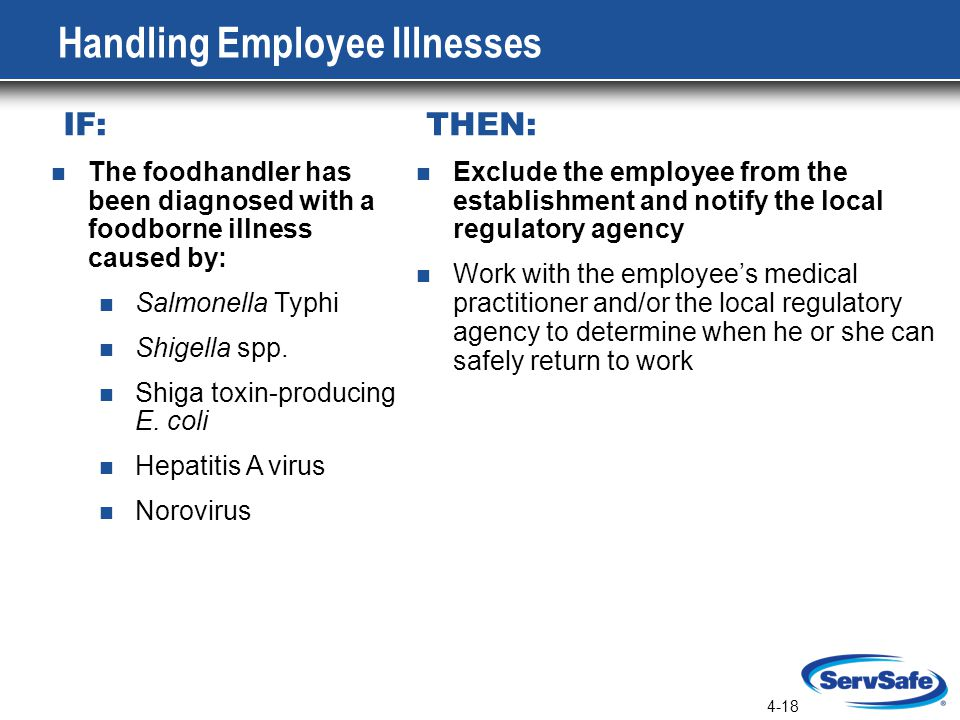 Handling Employee Illnesses