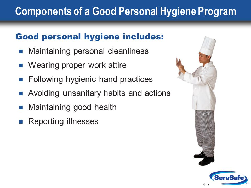 Components of a Good Personal Hygiene Program