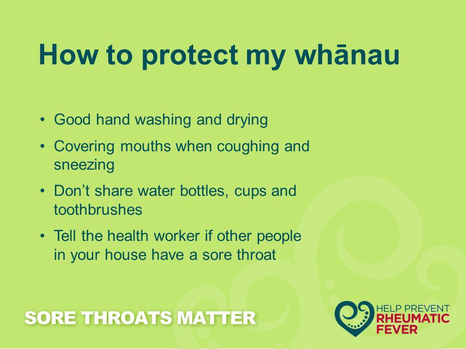 How to protect my whānau