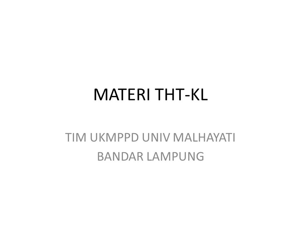 TIM UKMPPD UNIV MALHAYATI BANDAR LAMPUNG