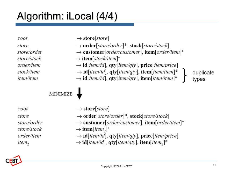 Algorithm: iLocal (4/4)
