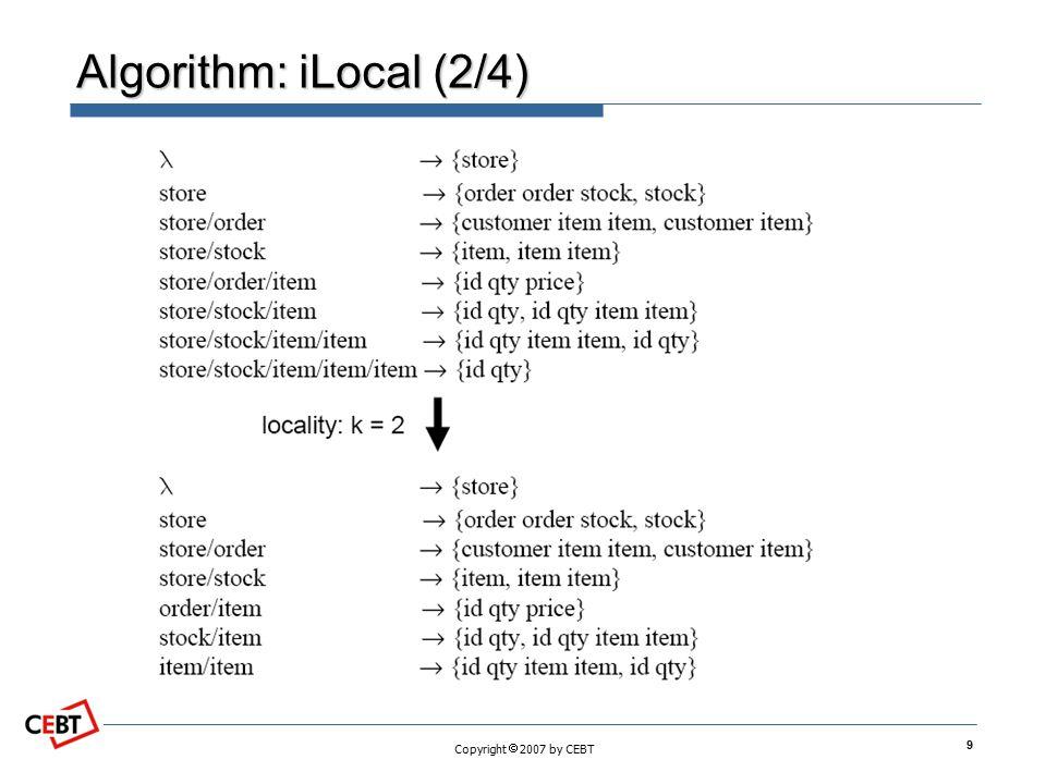 Algorithm: iLocal (2/4)