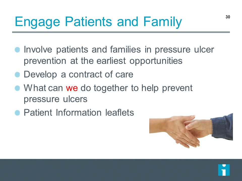 Engage Patients and Family