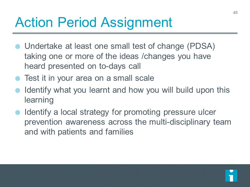Action Period Assignment