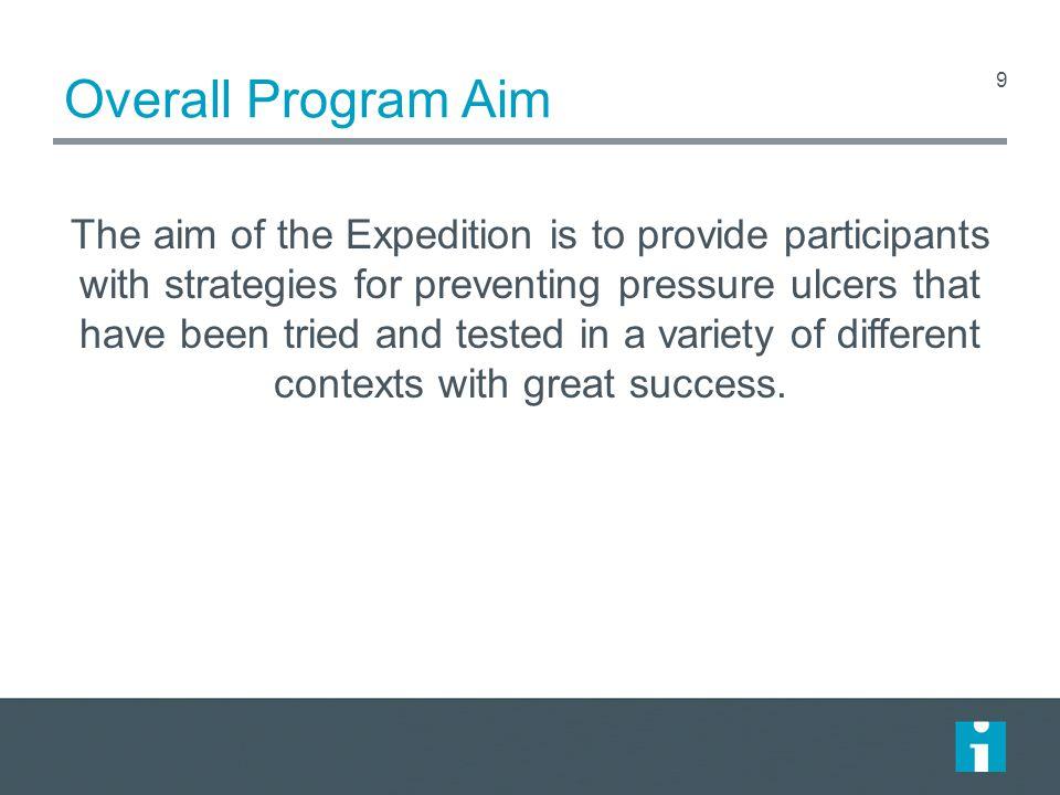 Overall Program Aim